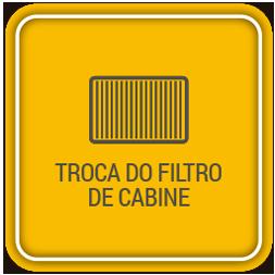 Troca do filtro de cabine