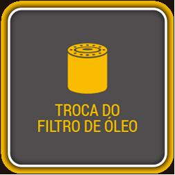 Troca do filtro de óleo