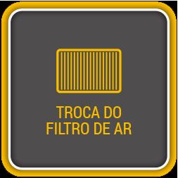 Troca do filtro de ar