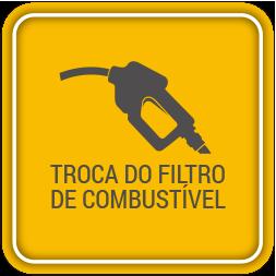 Troca do filtro de combustível