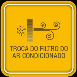 Troca do filtro do ar-condicionado