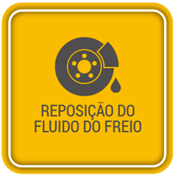 Reposição do fluido do freio